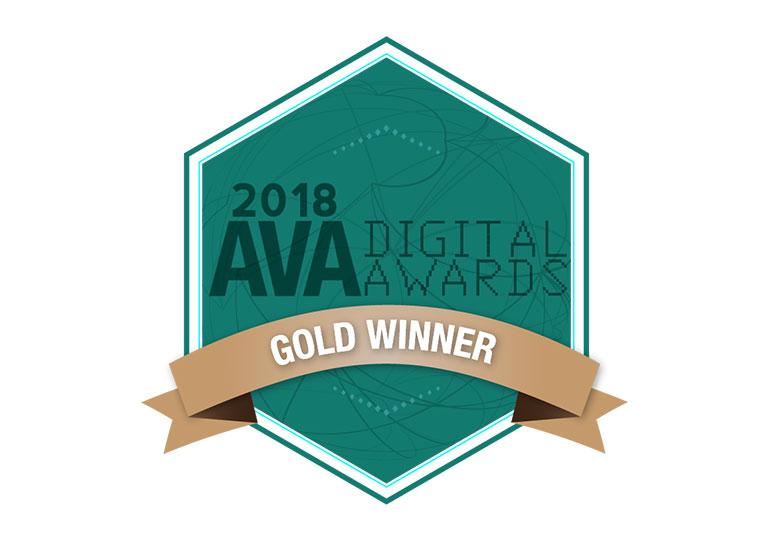Adage Wins AVA Digital Award Gold